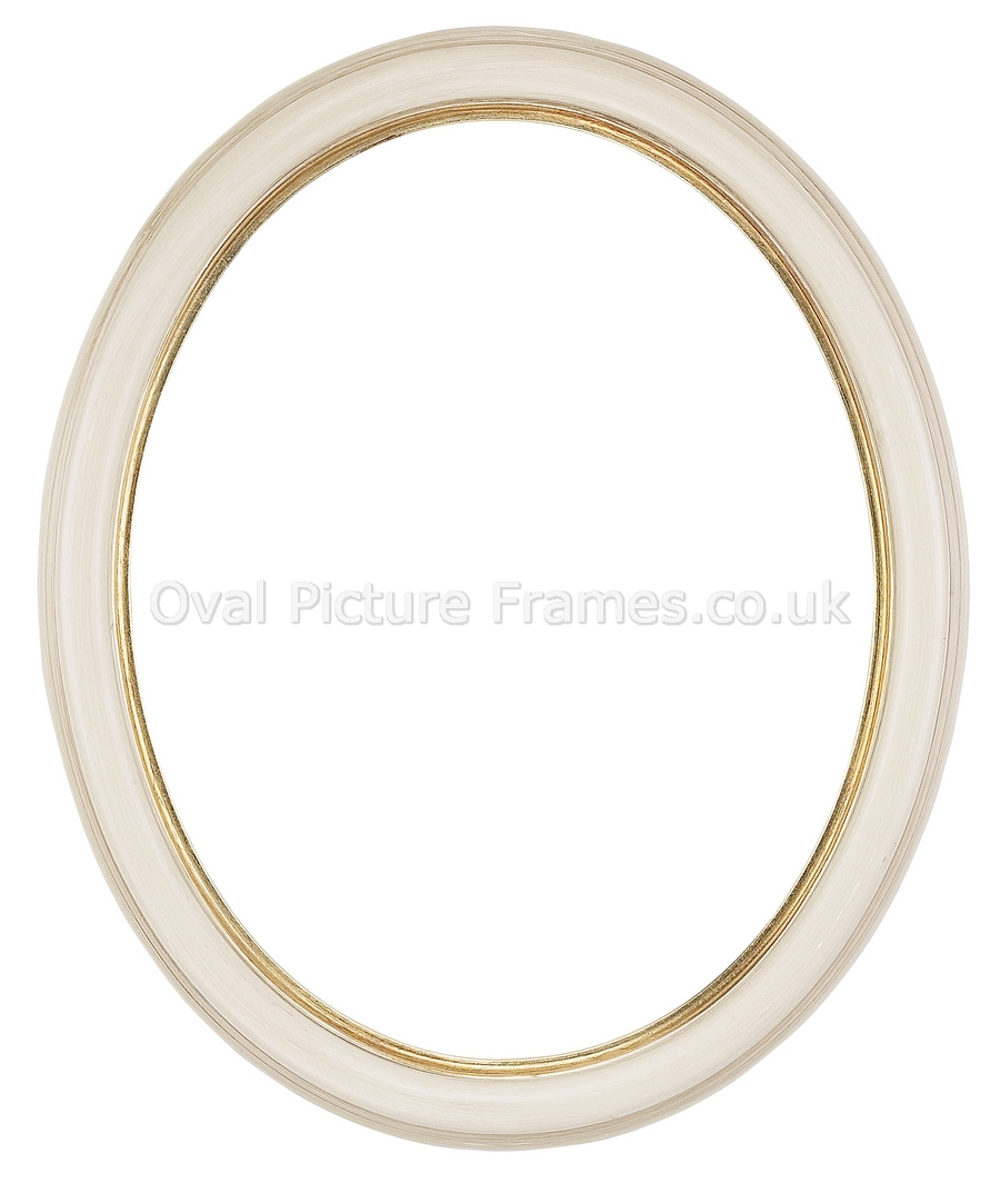 Oval Picture Frames Antique Ivory Oval Picture Frame