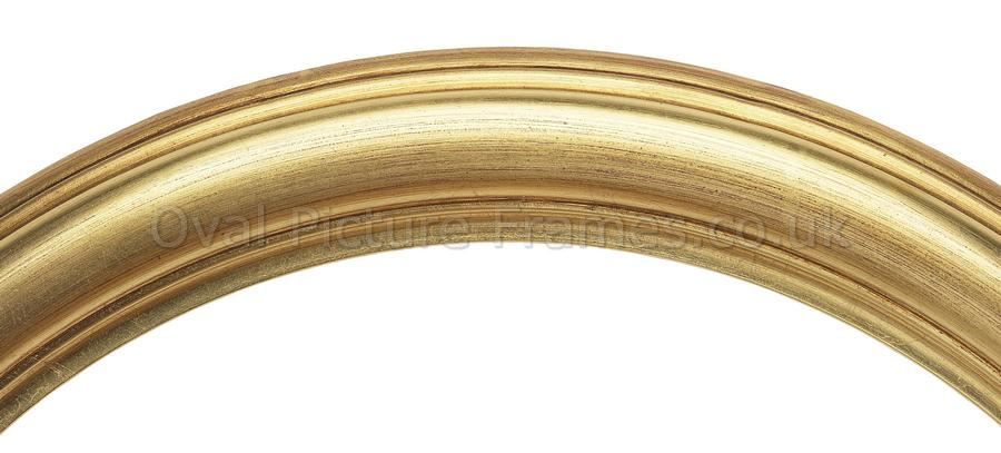 Oval Picture Frames - Gold Round Picture Frame. Product reference ...