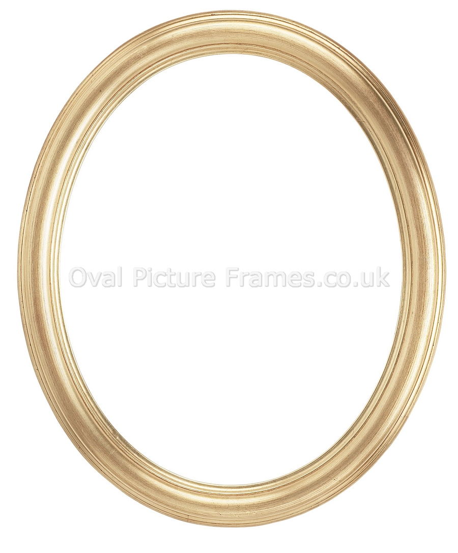 Picture Frames  Gold Oval Picture Frame. Product reference 703693200