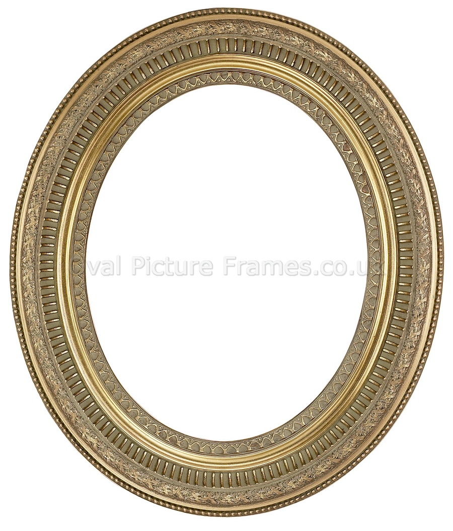 Oval Picture Frames - Gold Oval Picture Frame. Product reference ...
